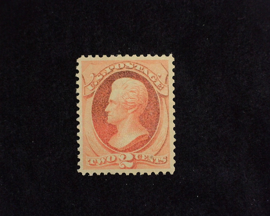 HS&C: US #183 Stamp Mint 4-15 P.S.E. certificate stating never hinged and natural paper inclusion at bottom right. VF/XF NH
