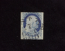 HS&C: US #9 Stamp Used Fresh. F/VF