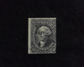 HS&C: US #17 Stamp Used Two margin stamp. Good color. F