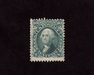 HS&C: US #68 Stamp Mint No gum. Reperf at left and tiny corner crease. F