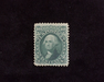 HS&C: US #68 Stamp Mint No gum. Perf fault at bottom. F/VF
