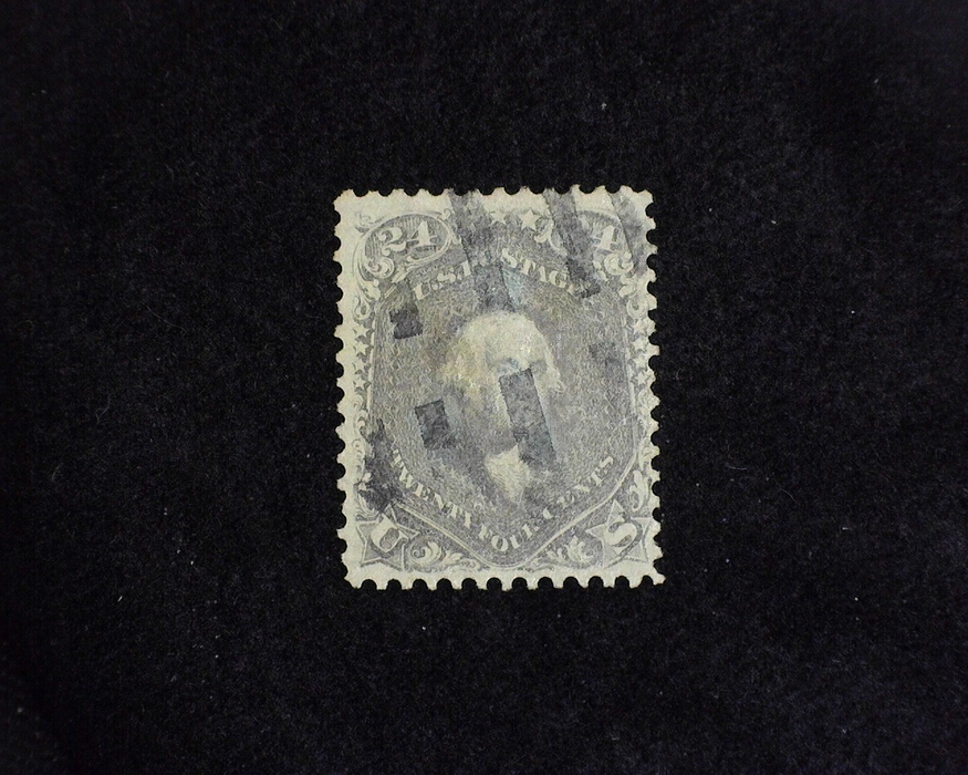 HS&C: US #70 Stamp Used Fresh. F