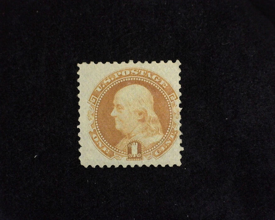 HS&C: US #112 Stamp Mint Bright color. F H