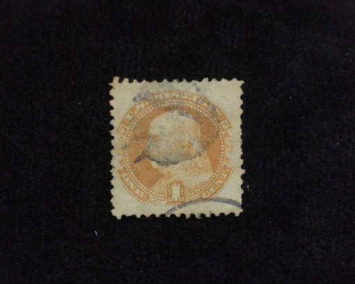 HS&C: US #112 Stamp Used Fresh. F/VF