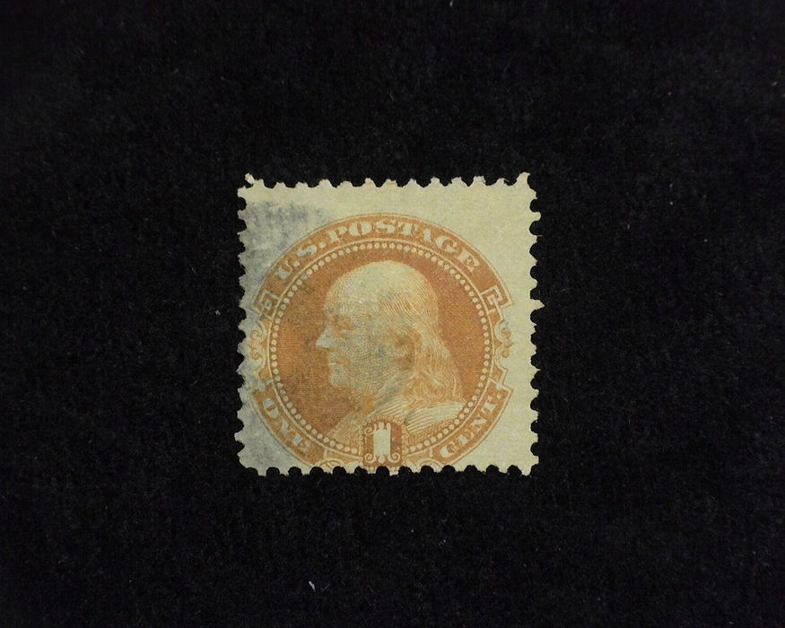 HS&C: US #112 Stamp Used Face Free cancel. AVG