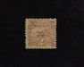 HS&C: US #113 Stamp Mint Regummed over thin. Sealed tear. AVG