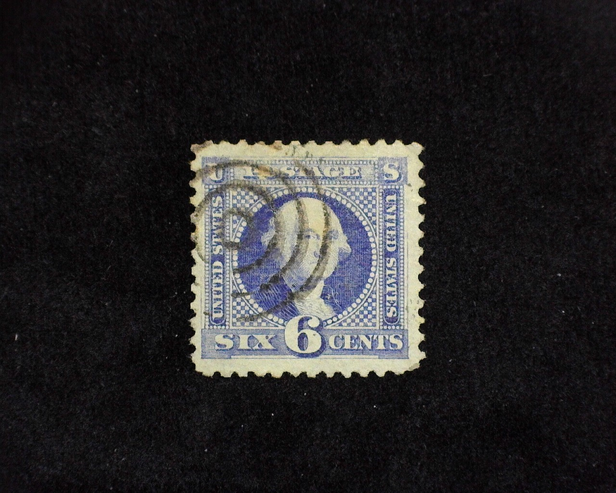 HS&C: US #115 Stamp Used Fresh stamp with Black Target cancel. VF