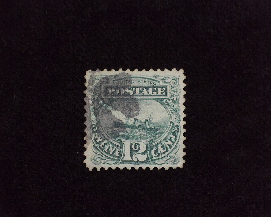 HS&C: US #117 Stamp Used Fresh and choice. VF/XF