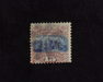 HS&C: US #118 Stamp Used Very clear double grill variety. F