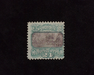 HS&C: US #120 Stamp Mint No gum. Faint corner crease. AVG