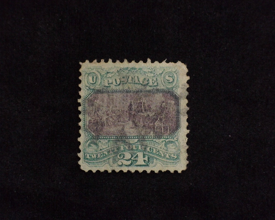 HS&C: US #120 Stamp Used Fresh. F