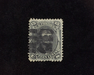 HS&C: US #91 Stamp Used Faint corner crease. F