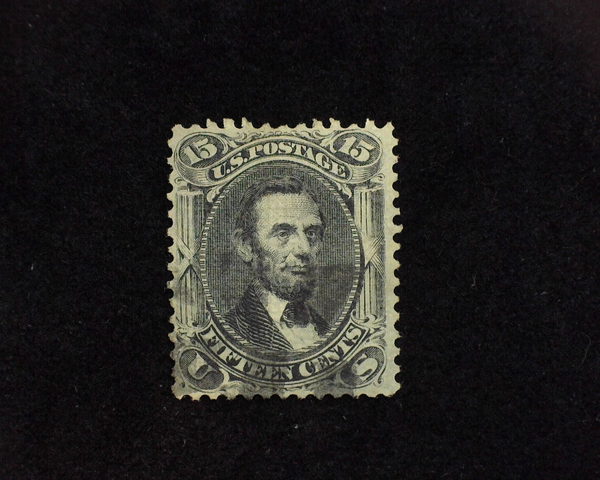 HS&C: US #91 Stamp Used Faint cancel. Faults F