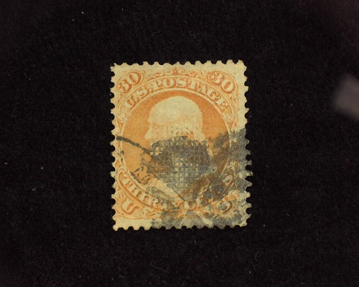 HS&C: US #100 Stamp Used Good color. F