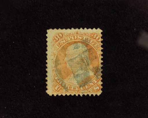 HS&C: US #100 Stamp Used Good color. AVG