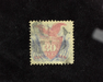 HS&C: US #121 Stamp Used Fresh. VF