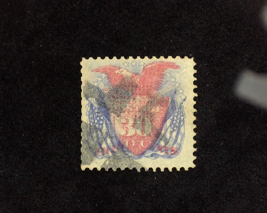 HS&C: US #121 Stamp Used Reperforated F/VF