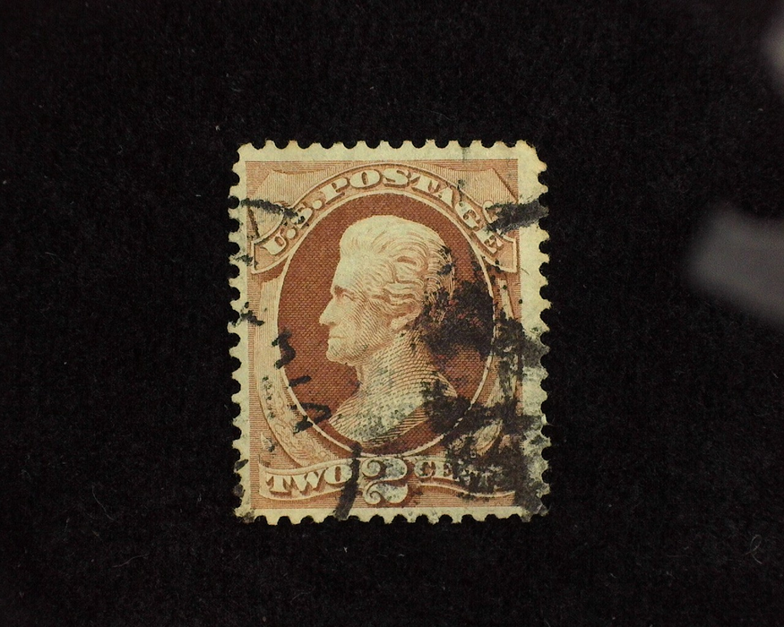 HS&C: US #135 Stamp Used Fresh and choice. VF
