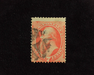 HS&C: US #138 Stamp Used Reperforated. AVG