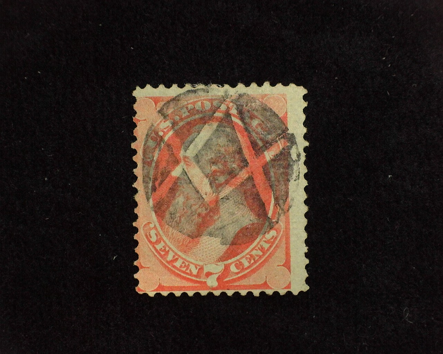 HS&C: US #138 Stamp Used AVG