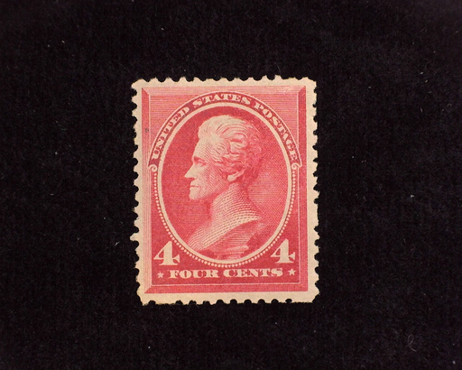 HS&C: US #215 Stamp Mint Bright color. VF/XF LH
