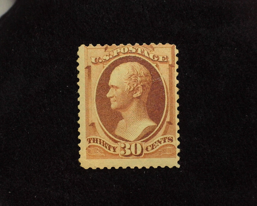 HS&C: US #217 Stamp Mint Fresh stamp with pin head thin. AVG