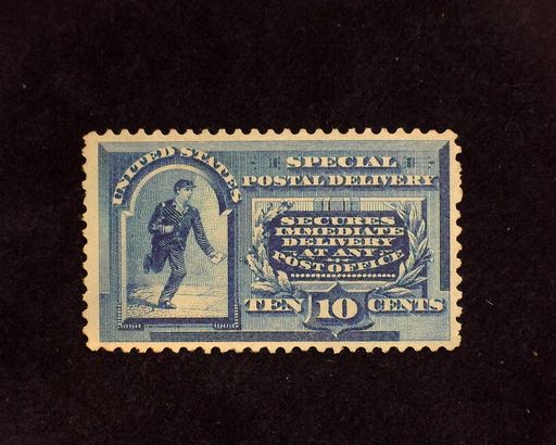 HS&C: US #E2 Stamp Mint Unused. No gum. Small thin. VF/XF