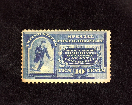 HS&C: US #E2 Stamp Mint Some toning. F NH