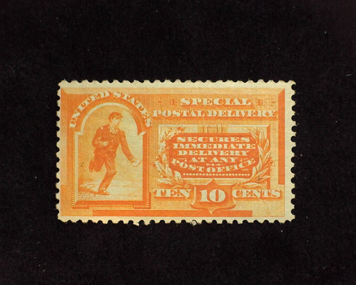 HS&C: US #E3 Stamp Mint Faint natural gum wrinkle. F LH