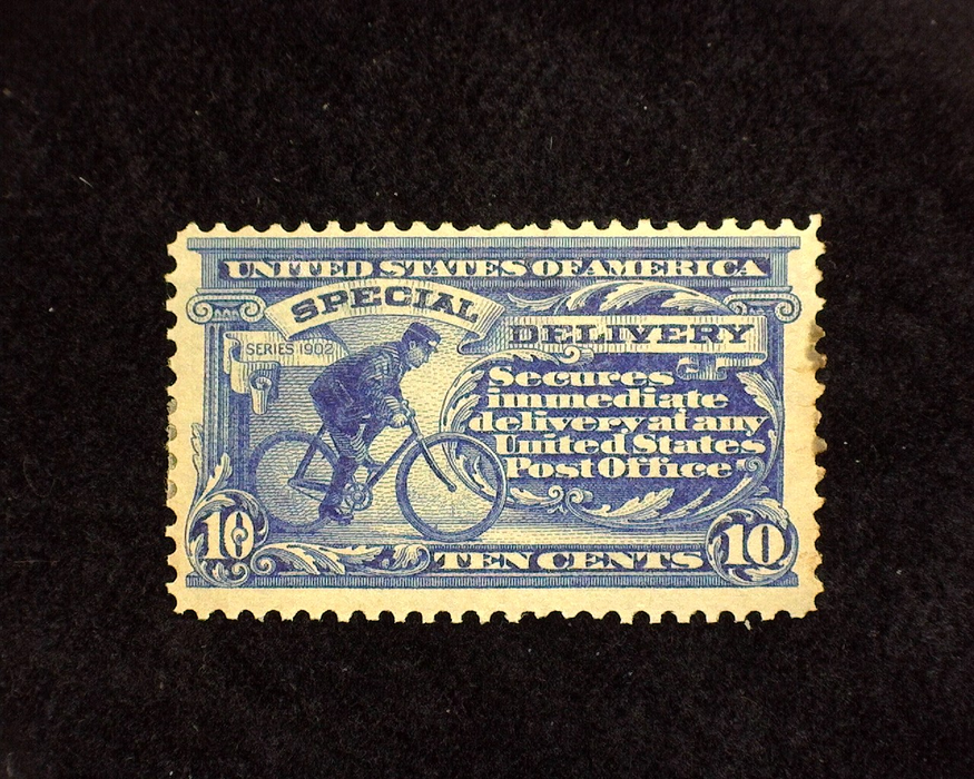 HS&C: US #E6 Stamp Mint Perf stains. F/VF H
