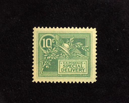 HS&C: US #E7 Stamp Mint Fresh large margin stamp. XF LH