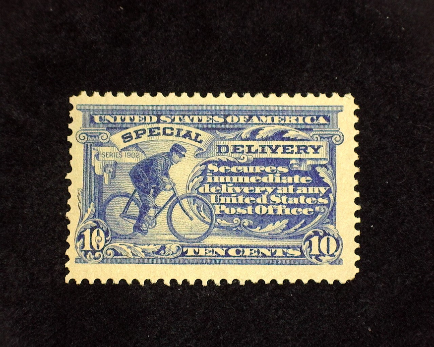 HS&C: US #E8 Stamp Mint F/VF LH