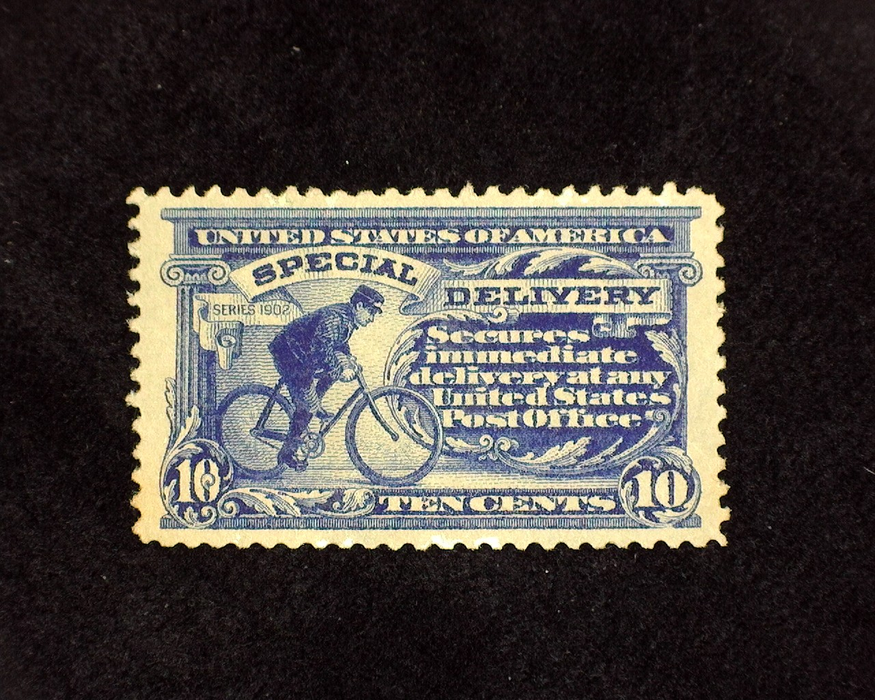 HS&C: US #E8 Stamp Mint Regummed. XF