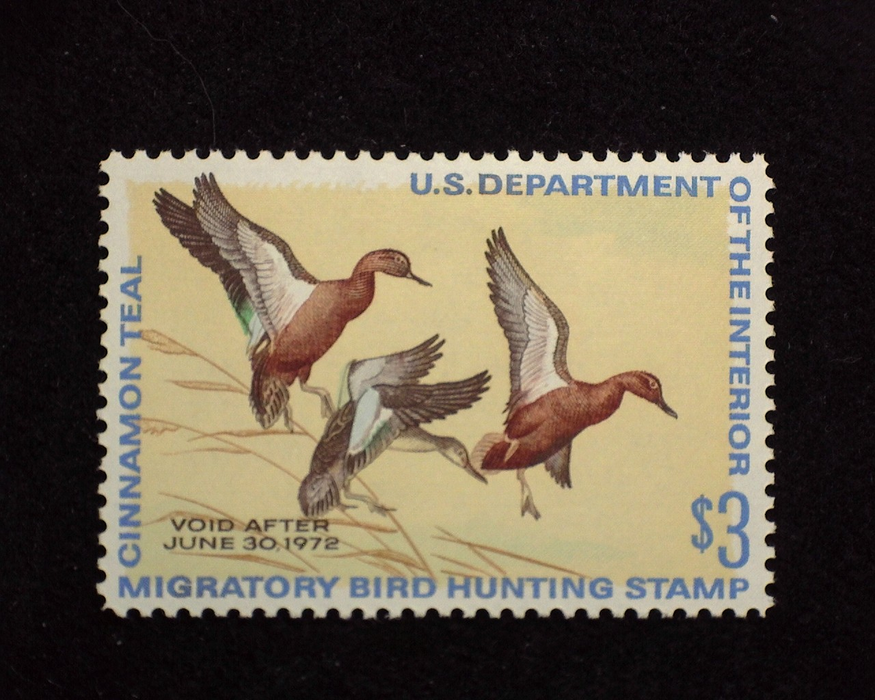 HS&C: US #RW38 Stamp Mint XF NH
