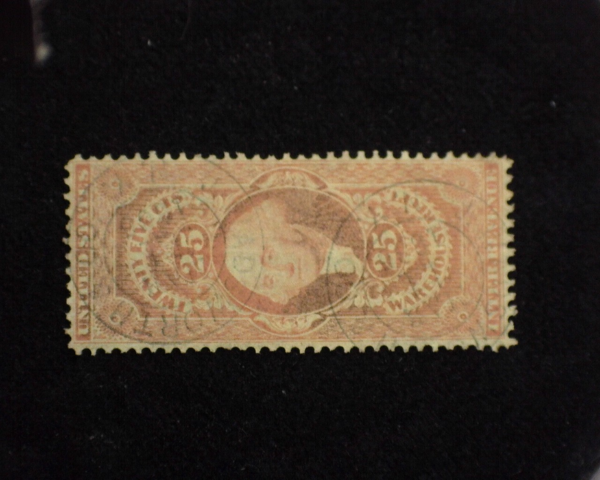 HS&C: US #R50c Stamp Used Very faint vertical crease. F/VF