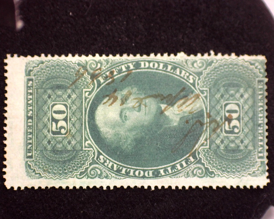 HS&C: US #R101c Stamp Used Fresh with faint cancel. F