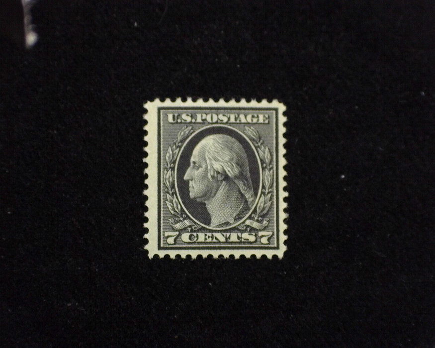 HS&C: US #407 Stamp Mint VF LH