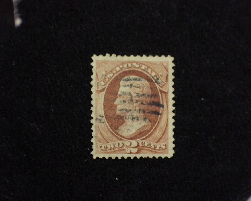 HS&C: US #135 Stamp Used Good color and faint cancel. VF