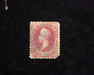 HS&C: US #144 Stamp Used Faults. F