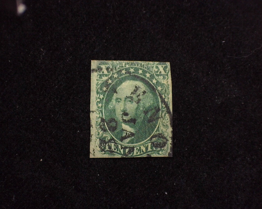 HS&C: US #15 Stamp Used Small thin. F/VF