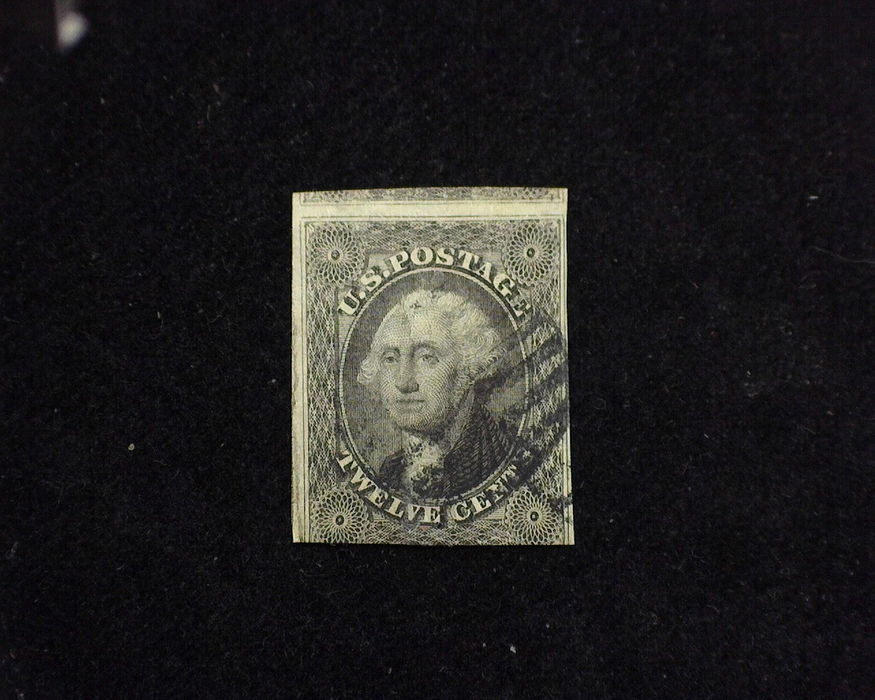 HS&C: US #17 Stamp Used Vertical crease. F