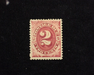 HS&C: US #J16 Stamp Mint F/VF H