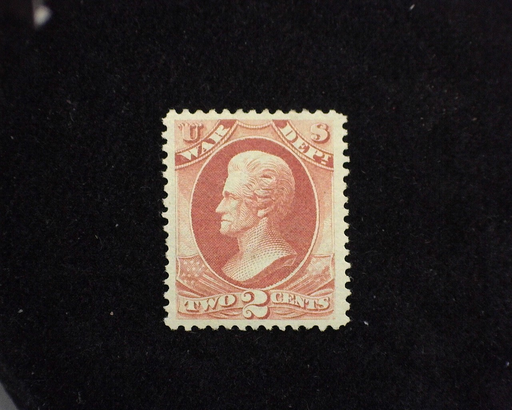 HS&C: US #O115 Stamp Mint VF/XF H