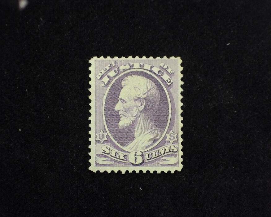 HS&C: US #O28 Stamp Mint F/VF LH