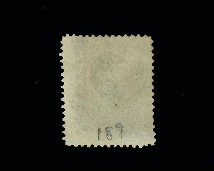 "#189 Used Outstanding ""Jumbo"" margin stamp. Brilliant color. XF/S"
