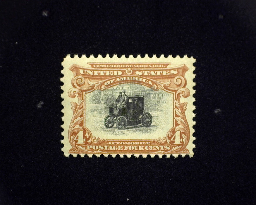 #296 MLH 4 cent Pan American. F