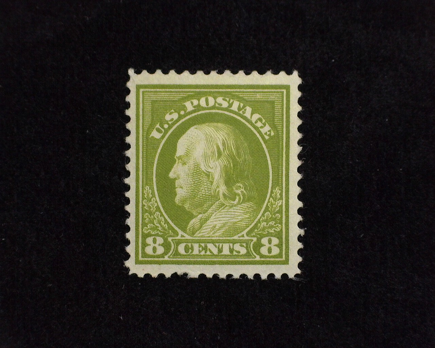 HS&C: US #414 Stamp Mint VF/XF LH