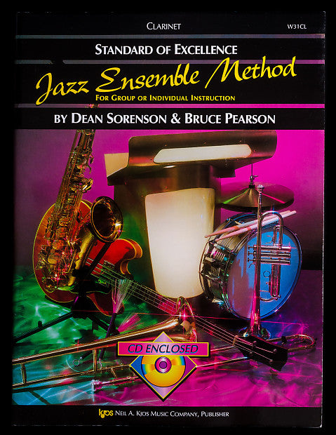 Standard of Excellence Jazz Ensemble Method for Clarinet