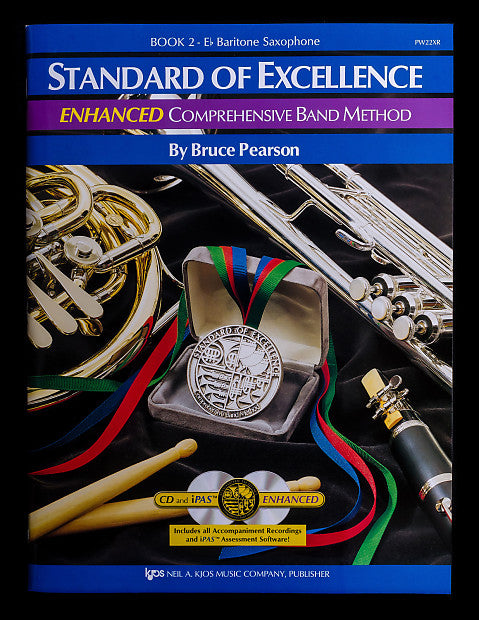Standard of Excellence Enhanced Book 2 Baritone Sax