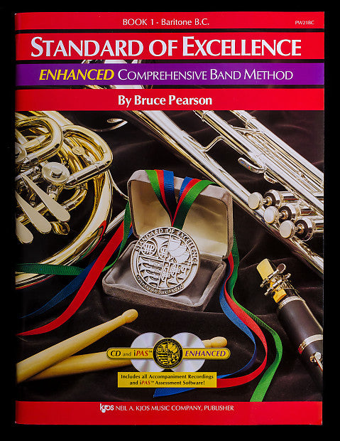 Standard of Excellence Enhanced Book 1 Baritone B.C.